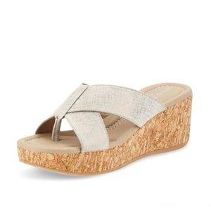 Donald J. Pliner | Shina Slip On Wedge Sandals